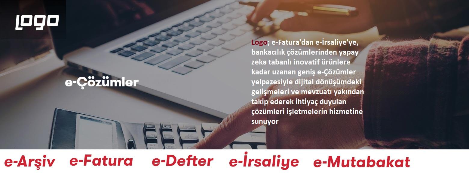E-defter ,E-Fatura, E-Arşiv, E-İrsaliye